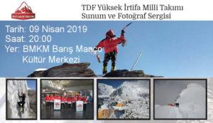 Pamirlerin İKİ DEVİ - Sunumu @ Barış Manço Kültür Merkezi