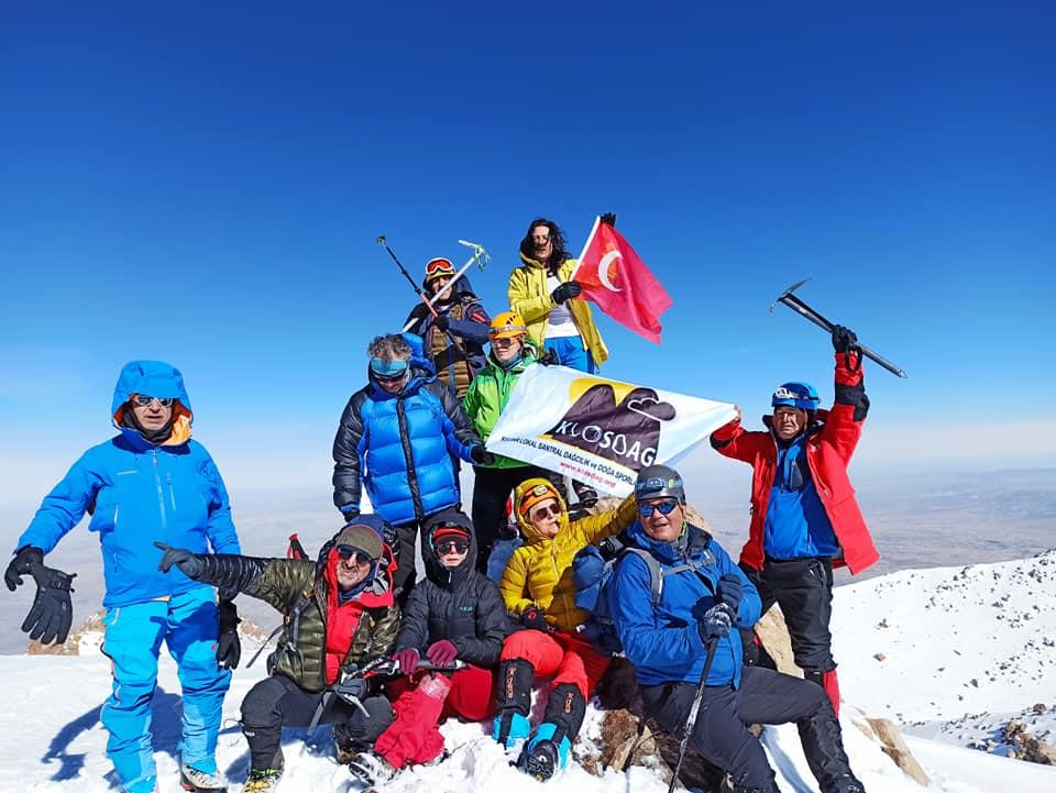 Hasan Dağı Tırmanışı Şubat 2021